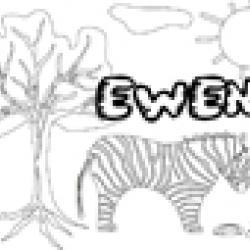 Activités sur le prénom Ewen