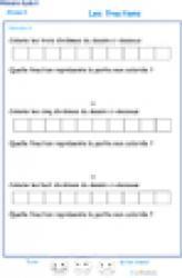 Exercice 11 : décomposition des fractions CM1 - CM2