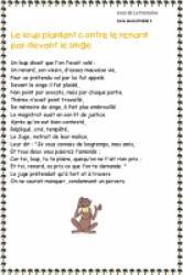 Fables de La fontaine livre 2