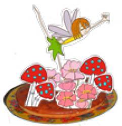 Gâteau de fées