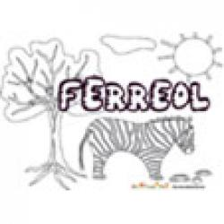 Ferreol, coloriages Ferreol