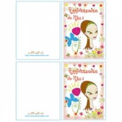 Carte anniversaire prête à imprimer