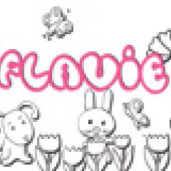 Activités sur le prénom Flavie