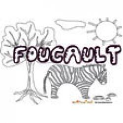 Foucault, coloriages Foucault