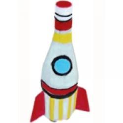 Fabrication d'un jouet avec une bouteille plastique : une fusée