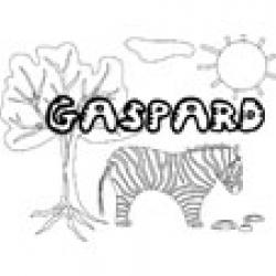 Gaspard, coloriages Gaspard