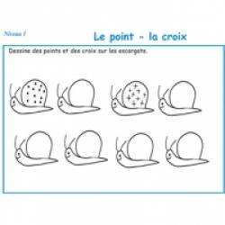 Activités de graphisme pour les enfants en maternelle niveau 2
