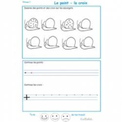 Exercices de graphisme niveau 1