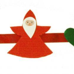 Guirlande de Père Noël à poser sur la table
