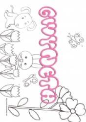 Gwyneth, coloriages Gwyneth