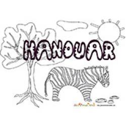 Hanouar, coloriages Hanouar
