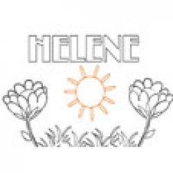 Helene, coloriages Helene