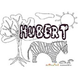 Hubert, coloriages Hubert