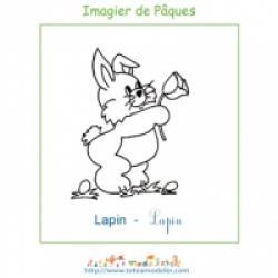 Imagier de Pâques a imprimer