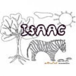 Isaac, coloriages Isaac