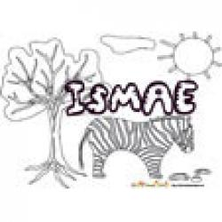 Ismae, coloriages Ismae