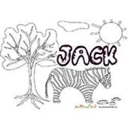 Jack, coloriages Jack