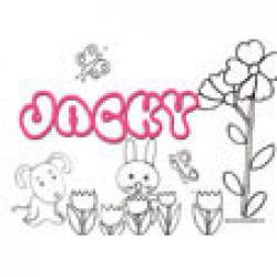 Jacky, coloriages Jacky