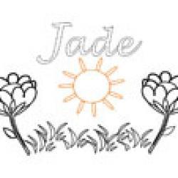 Jade, coloriages Jade