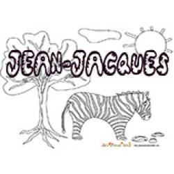 Jean-Jacques, coloriages Jean-Jacques