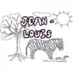 Jean-Louis, coloriages Jean-Louis