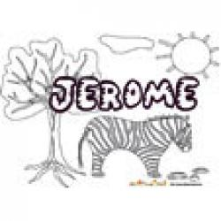 Jerome, coloriages Jerome