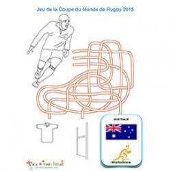 Australie, jeu sur la coupe du monde de rugby