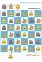 Des jeux de suite logique à imprimer : jeux d'échecs
