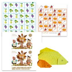 S'occuper pendant les vacances d'automne avec tout ce qu'inspire l'automne voila qui est malin!  Jeux, bricolages sur le theme de l'automne : champignon, feuilles d'automne