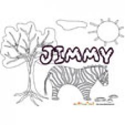 Jimmy, coloriages Jimmy