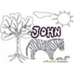 John, coloriages John