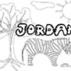 Activités sur le prénom Jordan