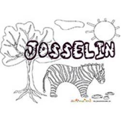 Josselin, coloriages Josselin
