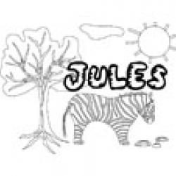 Jules, coloriages Jules