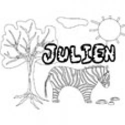 Julien, coloriages Julien