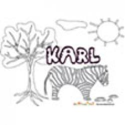 Karl, coloriages Karl