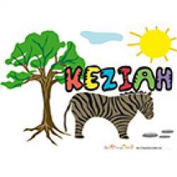 Activités sur le prénom Keziah