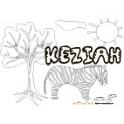 Keziah, coloriages Keziah