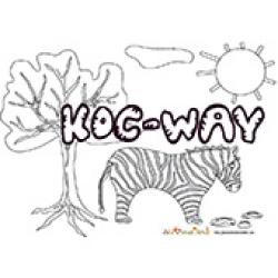 Koc-Way, coloriages Koc-Way