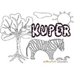 Kuper, coloriages Kuper
