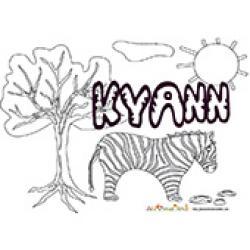 Kylann, coloriages Kylann