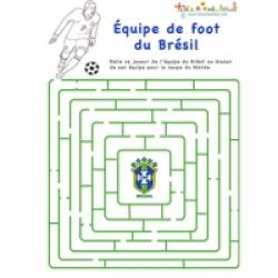 Foot : jeux de labyrinthes