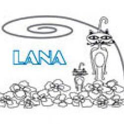 Lana, coloriages lana