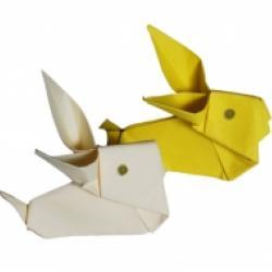 Le lapin origami