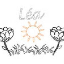 Lea, coloriages Lea