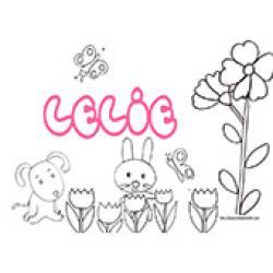Lelie, coloriages Lelie