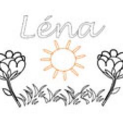 Lena, coloriages Lena