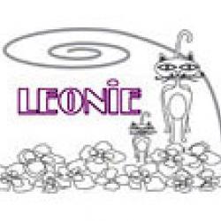 Leonie, coloriages Leonie