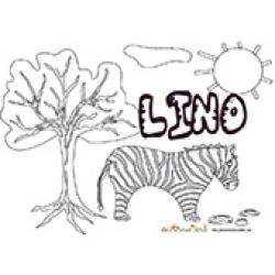 Lino, coloriages Lino