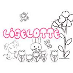 Liselotte, coloriages Liselotte